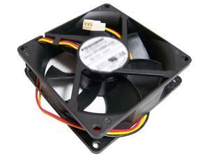 HP 12v DC 0.65a 80x25mm 3-Wire Fan PVA080G12Q 3-Pin Foxconn Pull
