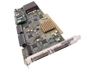 IBM 39J2014 PCIx Dual U320 DDr SCSi Raid Card 39J2012 571B Adaptec 39J0167 Adapter