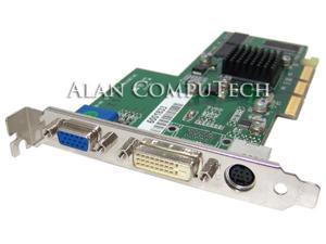 ATI Radeon 7000 64MB DDR VGA DVI-D TV Out 1028310100 AGP Video Card 109-83100-00