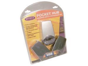Belkin USB 4-Ports Pocket Hub Retail Kit F5U007F P42681