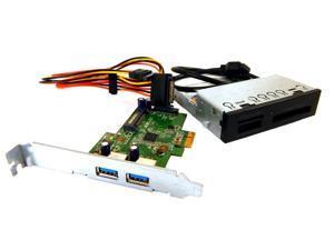 HP 3.5in Media Card Reader w/ USB3 CNTRL Kit 736299-U3C 3.5 Bay