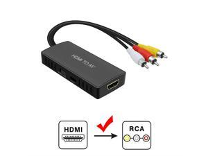 New Connection Cable Hdmi To 3rca 3-rca Video Component Connection Cable Cord Line For Hdim Tv For Hdmi Game Player Back To Search Resultshome