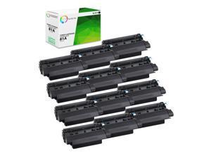 HQ Supplies Compatible Replacements for 5 HP 61X High Yield Black Toners LaserJet 4100mfp LaserJet 4101mfp Printers LaserJet 4100n 5 HP C8061X for LaserJet 4100 LaserJet 4100tn LaserJet 4100dtn
