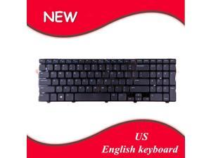 Laptop Keyboard US Layout Replacement for DELL Inspiron 15 3521 15R 5521 2521 Glossy Frame Black WIN8