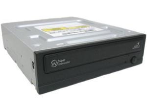 22x DVDR / 8x DVDRW /16x DVD+R Dual Layer, SATA Black
