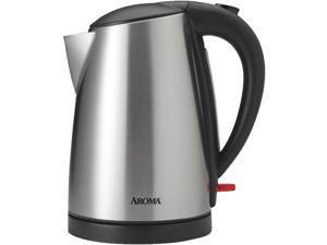 AROMA AWK-1400SB Stainless Steel 1.7 Liter (7 Cup) Electric Water Kettle