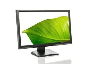 "Lenovo L2021W 20"" widescreen monitor 1600 x 900 16:9 VGA DVI inputs no cables"