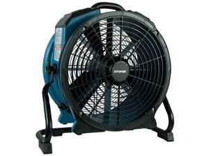 XPOWER X-47ATR X-47ATR 3,600 CFM Variable-Speed Sealed Motor Industrial Axial Air Mover/Dryer/Blower Fan with Timer an
