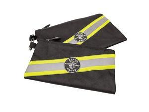 high visibility zipper bags, 2pack klein tools 55599