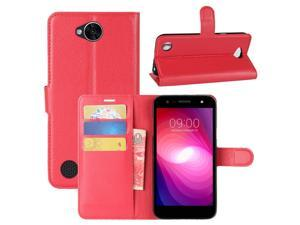 LG X Charge Case, LG X Power 2 Case, Fettion Premium PU Leather Wallet