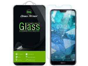 [2-Pack] Dmax Armor for Nokia 7.1 Tempered Glass Screen Protector with Lifetime Replacement