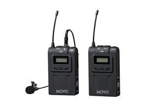 D810 D5300 D90 D5 D800 D4S D750 Movo Dual Capsule Lavalier Clip-on Omnidirectional Microphone for Nikon D7100 D4 D3300 D610 DF DSLR Cameras D5200 D500 D7000 D3X D5500 D3200