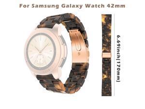 42mm Wrist Strap Bracelet For Samsung Galaxy watch Luxury Acetate Fiber Replacement Watch Band D.11