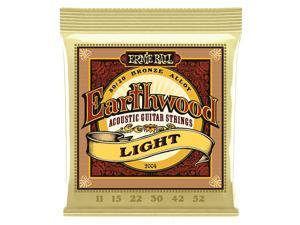 Ernie Ball 2004 Earthwood 80/20 Bronze Ac String Set Light (11-52)