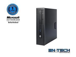 HP EliteDesk 800 G1 SFF PC - Intel Core i5 4570 4th Gen 3.20 GHz 8GB 256GB SSD DVD-RW Windows 10 Pro 64-Bit