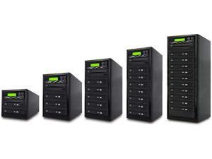 for 1 to 3 Target DVD//CD Duplicator Premium 5 Bay Case CS Series - BestDuplicator