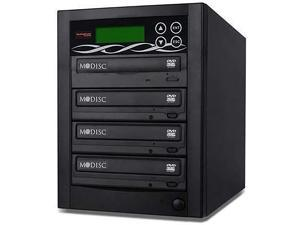 BestDuplicator SATA DVD Duplicator Built-in Samsung Burner (1 to 1 Target) CD/DVD Professional Duplication Disc Copier +