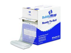 """Sealed Air 90065 Bubble Wrap Cushion Bubble Roll, 1/2"""" Thick, 12"""" x 65ft"""