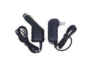 ABLEGRID DC Car Adapter with Wall Charger Power Supply For Vtech Mobigo V.Reader 9V1A