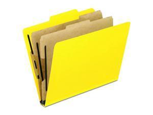 Staples Pressboard Classification Folders Letter Size 1 Divider Red 5//PK 413815