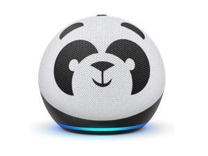 Amazon Echo Dot (4th Gen) Kids Edition, designed for kids, with parental controls, Panda