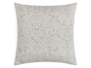 Bloomingdale's 1872 Clermont Euro Sham Cotton Jacquard Pillow Ivory