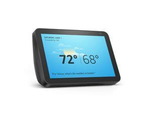 "Amazon Echo Show 8 Smart Speaker with Alexa 8"" HD Smart Display - Black"