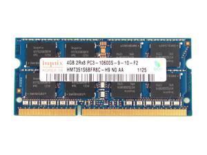 Hynix 8GB Kit (2* 4GB) 204-Pin DDR3 SO-DIMM DDR3 1333 (PC3 10600) Laptop Memory Model HMT351S6CFR8C-H9 - OEM