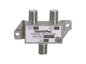 2 way splitter combiner bi-directional 1 ghz video signal coaxial dc block coax cable splitter uhf / vhf tv antenna combiner, 5