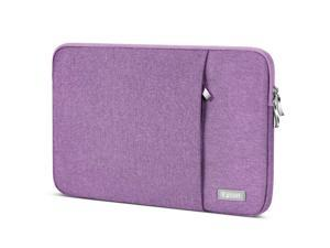 """Laptop Sleeve 15.6 inch,Egiant Water Repellent Protective Fabric Notebook Bag Case Compatible F555LA/MB168B/X551,Aspire 15/Chromebook 15/ Inspiron 15.6/15.6"""" Pavilion,Computer Carrying Case(Purple)"""