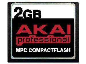 2GB Akai MPC CompactFlash CF Memory Card for MPC500, MPC1000, MPC2500, MPC5000