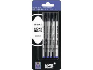Montblanc Rollerball Refills Blue Medium 5 Per Pack