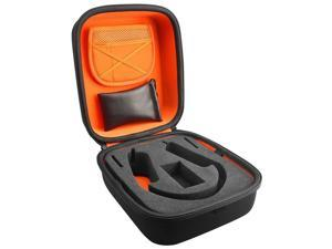 Geekria Hard Shell Large Carrying Case/ Headset Travel Bag with Space for Cable, AMP, Parts, and Accessories Compatible with Beyerdynamic DT660, DT770, DT990 DT880, AKG K240, K701, K702, Q701