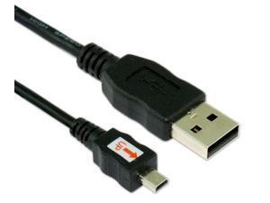 KDC Ultra-mini 8pin USB Cable Black
