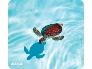 Allsop Nature's Smart Mouse Pad 60% Recycled Content, Turtle (31425)
