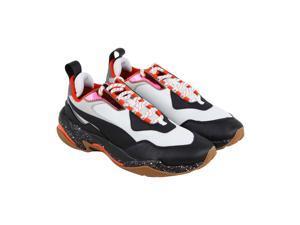 Puma Thunder Electric White Black Mandarine Red Mens Athletic Running Shoes 3506ac42c