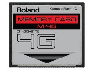 4GB Roland M-4G CompactFlash CF Memory Card for V-Synth, Fantom X6, X7, X8, XR, Xa and more.