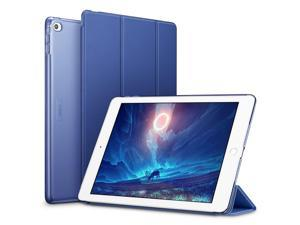 ESR iPad Air 2 Case, Smart Case Cover [Synthetic Leather] Translucent Frosted Back Magnetic Cover with Auto Sleep/Wake Function [Light Weight] (Navy Blue)