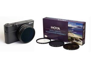 Microfiber Cleaning Cloth 52mm Circular Polarizer Multicoated Glass Filter CPL for Sony HDR-CX760V
