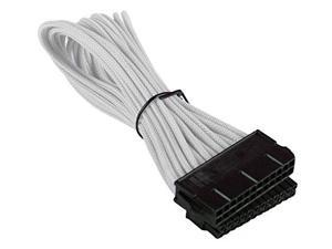24 Pin ATX Cable Cord Male to Female Connector Premium Braided Adapter