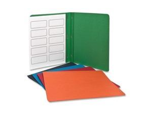 Twin Pocket Portfolios with Three Tang Fasteners, Assorted Colors, 25/Box (ESS57713)