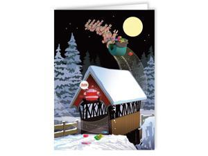 18 Funny Boxed Christmas Cards - Low Bridge Christmas Card
