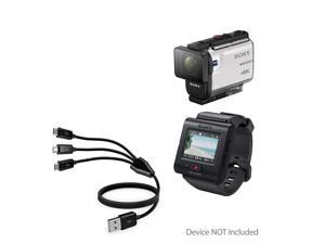 Sony HDR-AS200V Camcorder Battery Charger Replacement Charger for Sony NP-BX1 110//220v with Car /& EU adapters