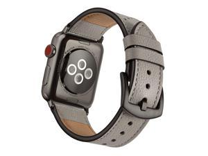 e003168d8a3f1d Mifa Leather Watch Band Compatible with Apple Watch 4 44mm 42mm Bands iwatch  Series 1 2