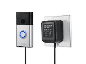 Wasserstein Power Supply Adapter Compatible with Ring Video Doorbell, Doorbell 2, Doorbell Pro, Zmodo Video Doorbell, eufy Doorbell, and Arlo Doorbell