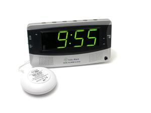 Sonic Bomb Extra-Large Dual Alarm Clock with Large Display - SBD375SS