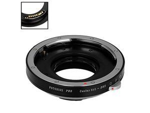 Mount D//SLR Camera Body SLR Lens to Canon EOS Fotodiox Pro Lens Mount Adapter Compatible with Contax//Yashica EF, EF-S CY with Gen10 Focus Confirmation Chip