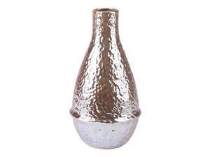 Zuo Textured Vase (Medium), Pearl Yellow