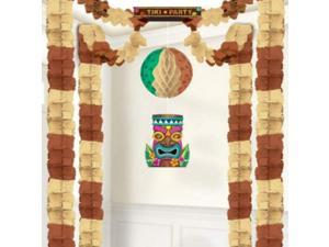 Amscan Tiki Party All-in-One Hanging Decoration, 20 x 20