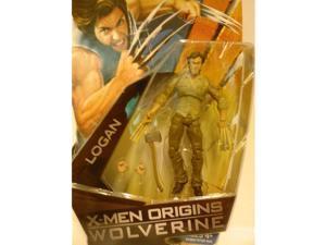 X-Men Origins Wolverine Movie Series 3 3/4 Inch Action Figure Logan with Bone Claws by Hasbro